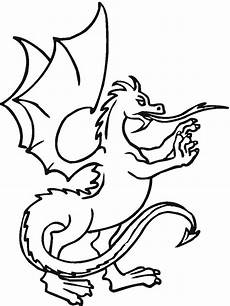Malvorlage Drache Einfach Coloring Pages Printable