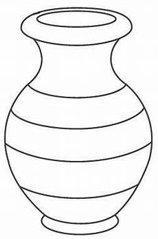 Ausmalbilder Blumenvase Vase Coloring Pages To And Print For Free
