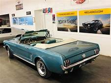 Ford Mustang Teal With 35570 Miles For Sale  Classic