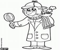 Malvorlage Detektiv Ausdrucken Malvorlage Detektiv Ausdrucken Malbild
