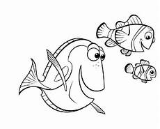 Malvorlage Nemo Fisch Finding Nemo Coloring Pages Coloringpages1001