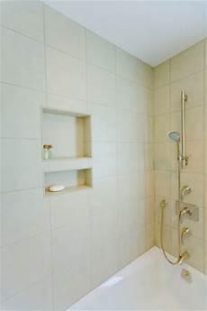 Los Altos Bathroom Remodel Shower Tub Tile Niche