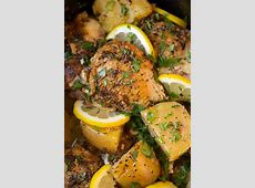 crock pot greek lemon chicken_image