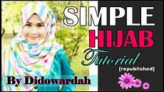 Tutorial Segi Empat Simple Menutup Dada By