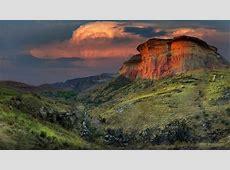 Glowing Mountain Art Nature Desktop Wallpaper Hd 2560x1440