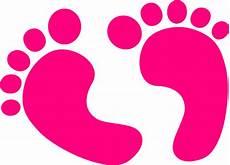 Baby Footprint Clipart
