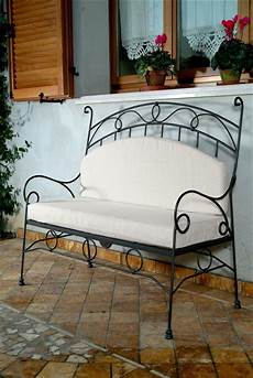 divanetto ferro battuto divanetto in ferro battuto lavorato a mano vendibile anche