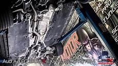 bull x auspuff audi a4 b7 individual exhaust system sound bull x auspuff