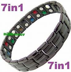 7in1 Bracelet Magnetic Energy Armband Power by 7in1 Titanium Strong Magnetic Energy Armband Power