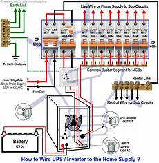 home inverter wiring diagram automatic ups inverter wiring connection diagram to the home