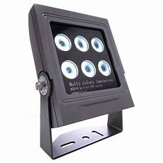 led rgb strahler led strahler power spot in anthrazit 32w rgb 3000k 30
