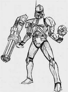 wars clone trooper coloring pages