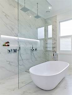 Bathroom Fixtures Nz by Pared Back Design With Marble Look Tiles Creates Trends