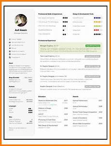 9 one page resume template free download professional