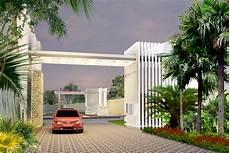 Desain Gerbang Perumahan Minimalis Tukang Bangun Rumah