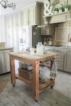 Kitchen Island Cart Diy by Diy Island Ideas For Small Kitchens Beneath My