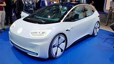 Vw I D Future Electric Car 400 Or 600km Range