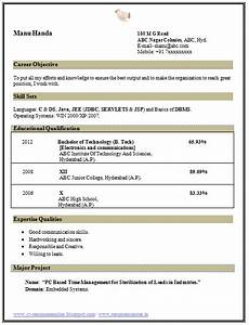 beautiful resume template sle template of a b tech ece electronics and communication