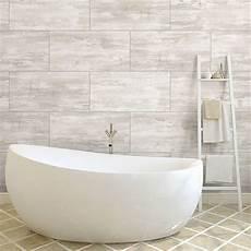 Dalle Pvc Adhesive Salle De Bain White Concrete Pvc Wall Panel Easy Fit Hygienic