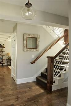 the interior paint color throughout the house is sherwin williams repose gray light grey paint