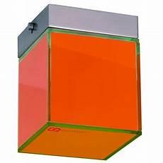 S Luce Deckenleuchte W 252 Rfel 187 Dice 10x10cm Orange 171 Otto