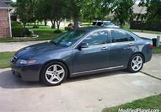 2004 acura tsx with 2006 acura tl oem wheels