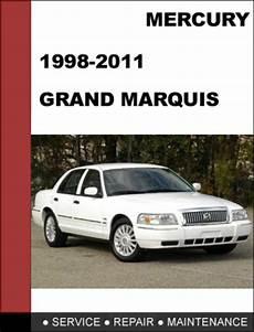 free service manuals online 2002 mercury grand marquis spare parts catalogs mercury grand marquis 1998 to 2011 factory workshop service repair manual tradebit