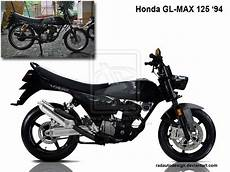 Gl 125 Modif by Otomotif Bike Contoh Modifikasi Honda Gl Max 125