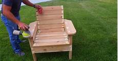 how to build a patio chair out of wood diy outdoor chair