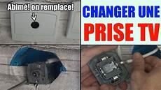 Installer Une Prise Tv T 233 L 233 Vision Brancher Changer Mettre