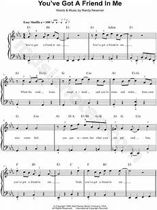 randy newman quot you ve got a friend in me quot sheet music easy piano in eb major transposable