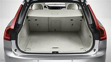 volvo v90 2016 dimensions boot space and interior