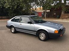 car owners manuals for sale 1984 honda accord on board diagnostic system 1984 honda accord hatchback 79k original worldwide no reserve auction for sale honda accord