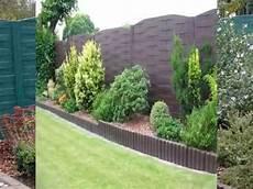 palissade jardin beton pose de cl 244 ture en b 233 ton pr 233 sent 233 s par l entreprise dl