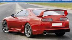 supra trd style carbon and frp rear spoilers for toyota