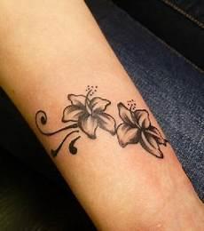 Foto Unterarm Blumen