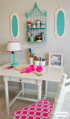 hometalk pink green girly organized ultimate home