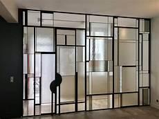 cloison en verre artisan miroir cloisons en verre pour bureaux