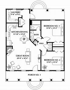 2 bedroom cottage floor plans small 2 bedroom cabin plan add a small garage and