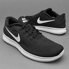 nike free rn black white anthracite mens shoes