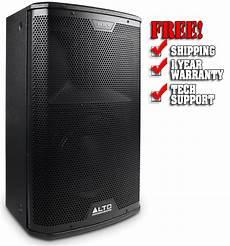 Alto Black 10 2 Way 2400 Watt Active Loudspeaker With