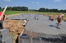 dalle b 233 ton est coul 233 e construire maisons d en flandre