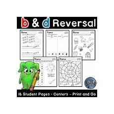 letter discrimination worksheets 23059 b and d teaching resources teachers pay teachers