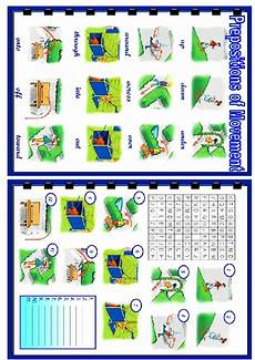 prepositions of movement wordsearch puzzle