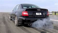 audi s4 b5 1100hp audi s4 b5 bi turbo loud start accelerations