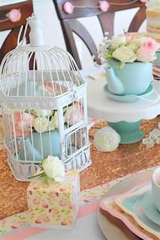 diy vintage tea party bridal shower