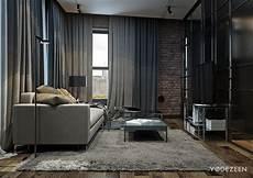 wohnideen wohnzimmer grau 50 shades of grey apartment by yodezeen