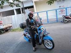 Variasi Motor Scoopy by Cutting Sticker Motor Scoopy