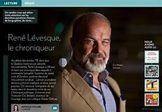 Ren 233 L 233 Vesque Le Chroniqueur La Presse