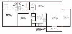 1100 square foot house plans house plan in 1100 sq feet house floor plans